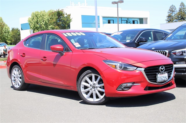 Pre-Owned 2017 Mazda3 Grand Touring ONE OWNER